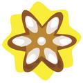 Cute daisy ornament