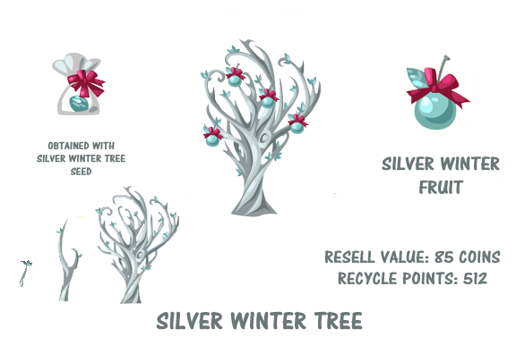 Silver winter tree summary