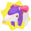 Anteater plushie