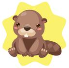 Brown Beaver Plushie