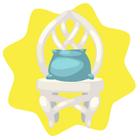 Elven kingdom chair