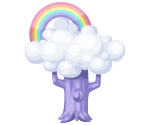 Pony paradise rainbow tree