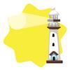 Luminous minature lighthouse