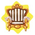 Golden Olympus Chair