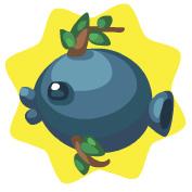 Blueberry fish