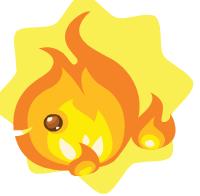 Fire elementfish
