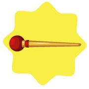 Carnival ringmaster baton
