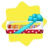Rainbow petling biscuit bundle