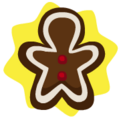 Chocolate boy ornament
