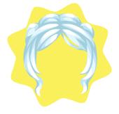 Ice princ wig