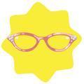 Pink Retro Glasses