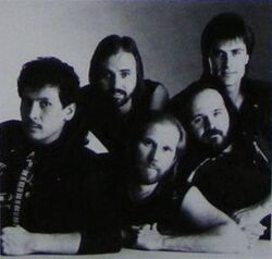 Petra band Beat the System 1985