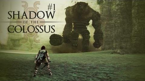 LETS START AN ADVENTURE BROS! - Shadow of the Colossus 1st Colossus (The Minotaur)