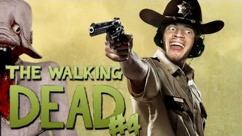 The Walking Dead - ZAMBIE KILLAN! - The Walking Dead - Episode 1 (A New Day) - Part 4