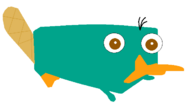 Perry the platypus (paint)