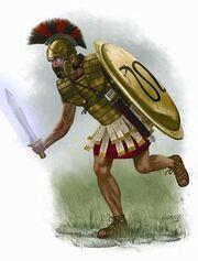 Greek Psychic Warrior