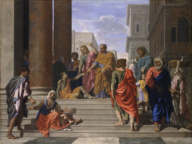 File:Saints-peter-john-healing-the-lame-man-1655-by-nicolas-poussin1.jpg