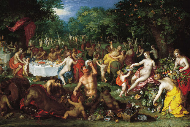 File:A Bacchanal by Jan Brueghel the Elder and Hendrik van Balen I, ca. 1608 - 1616. Speed Art Museum.jpg