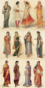 Styles of Sari