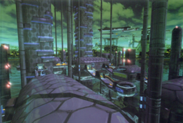 Spaceship city