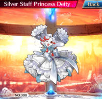 Silver Staff Princess Deity