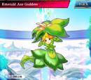 Emerald Axe Goddess