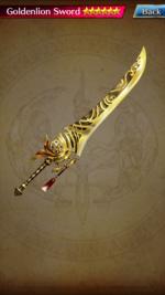 422 Goldenlion Sword