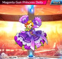 Magenta Gun Princess Deity