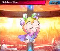 Rainbow Pixie 3★