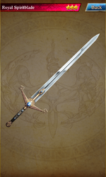 154 Royal Spiritblade