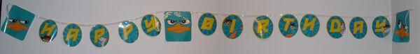 Hallmark Perry birthday banner