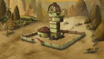 Doofus khan's multi level yurt