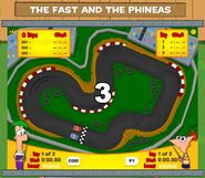 The Fast and the Phineas game start