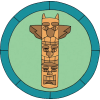 Totem Pole Carving Patch