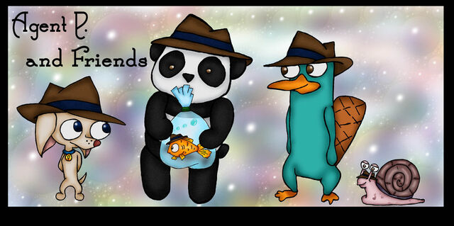 File:Agent P, and Friends colored, by Fallonkyra.jpg