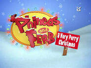 Phineas and Ferb - A Very Perry Christmas (Image of DVD Promo)