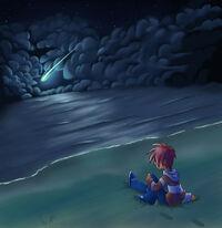 Lost at Sea, by FishandFoxes