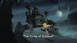 The Curse of Candace title card