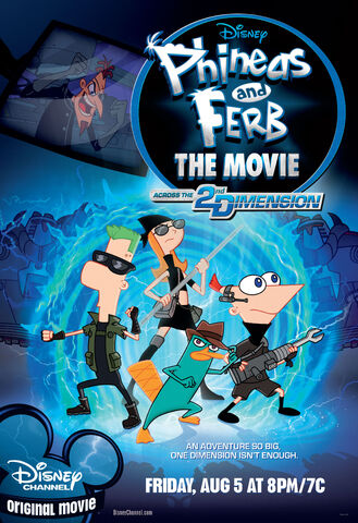 File:Phineas and Ferb Across the 2nd Dimension official poster.jpg