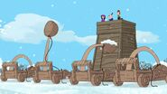 Snow Catapults