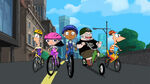 Tour De Ferb song HD