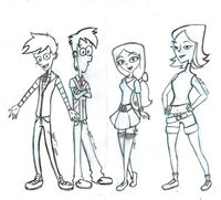 Phineas and Ferb...In High School, by shaolinfan1