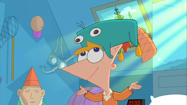 File:1000px-Perry on Phineas's Head.jpg