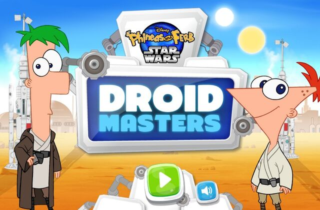 File:Phineas and Ferb Star Wars - Droid Masters menu card.jpg