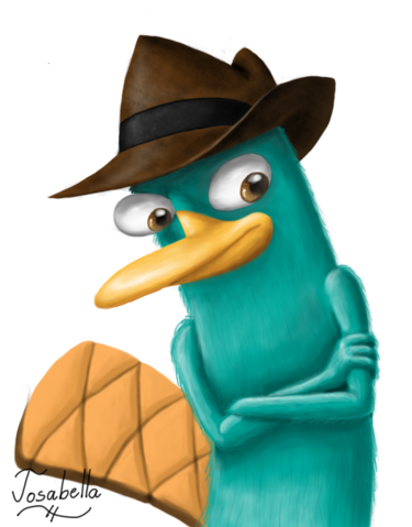 File:Agent P - Lineless, by Josabella.png