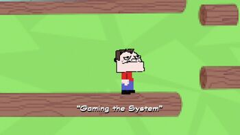 Gaming the System title card
