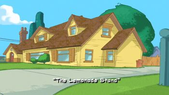 The Lemonade Stand title card