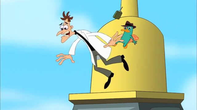 File:Perry kicking Doof from Big Ben.jpg