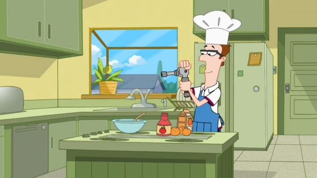 File:Lawrence getting ready to make a creme brulee for Linda.jpg