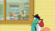 Perry will miss Phineas and Ferb